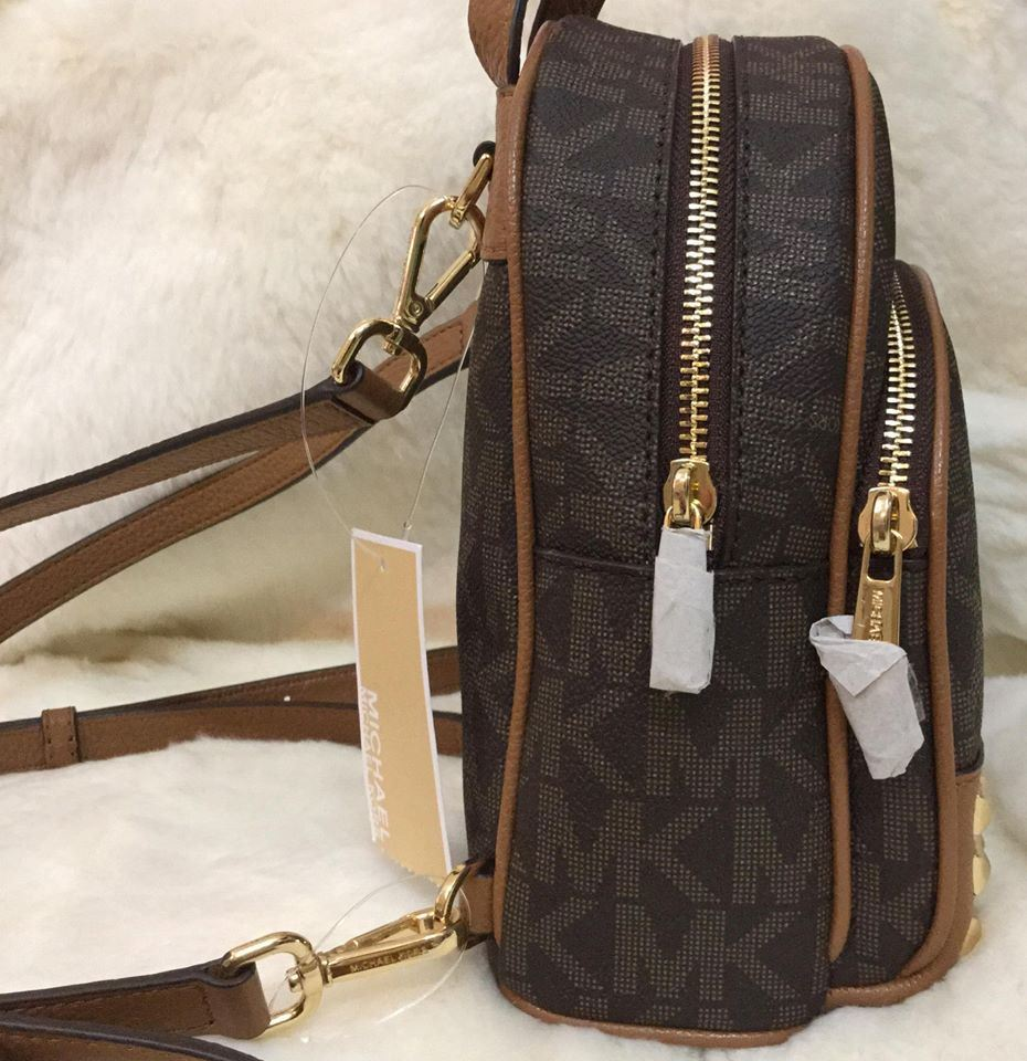 cc6cb4a6f78e ... amazon michael kors abbey extra small signature studded backpack  crossbody bag 12d2f 2ff8f