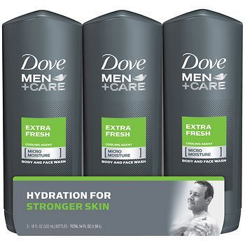 Picture of Dove Men+Care Extra Fresh Body Wash, 3