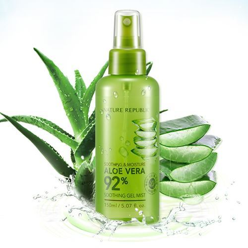 Picture of [NATURE REPUBLIC] Soothing & Moisture Aloe Vera 92% Soothing Gel Mist 150ml