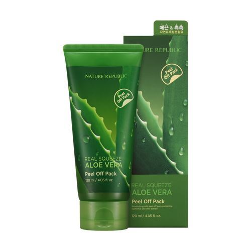 Picture of   Nature Republic Real Squeze Aloe Vera Peel Off Pack 120ml