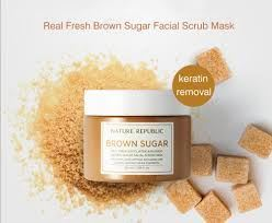 Picture of  Nature Republic Real Fresh Brown Sugar Facial Scrub Mask 100ml