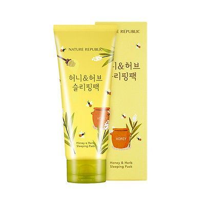 Picture of  Nature Republic Honey And Herb Sleeping Pack 155ml