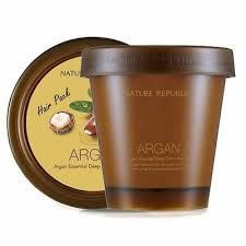 Picture of  NATURE REPUBLIC Argan Essential Deep Care Hair Pack 200ml