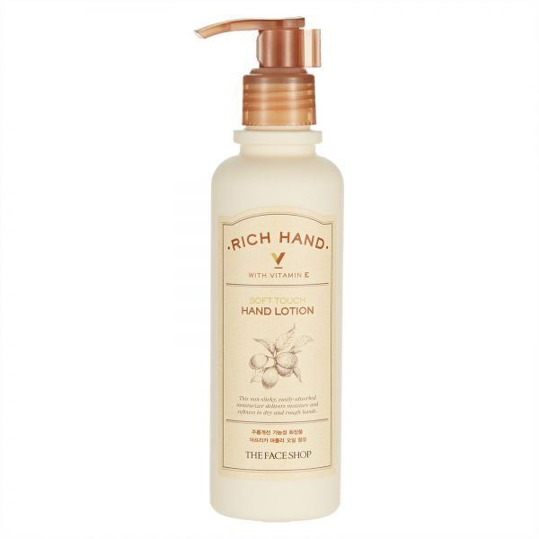 Picture of  The Face Shop Rich Hand V Soft Touch Hand Lotion