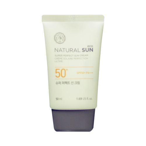Picture of  THE FACE SHOP Natural Sun Eco Super Perfect Sun Cream - 50ml
