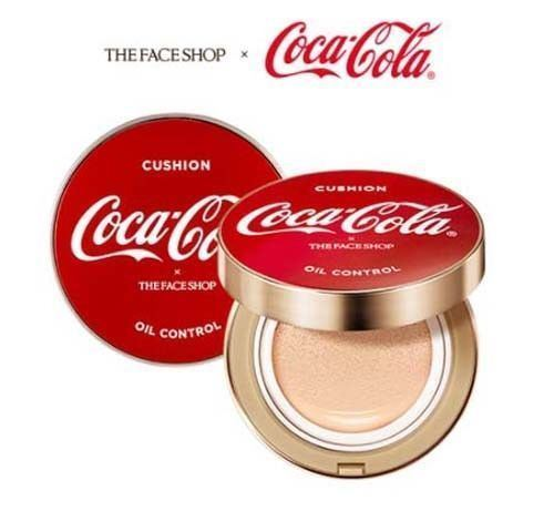 Picture of  The Face Shop Coca Cola Oil Control Water Cushion 15g - Limited Edition