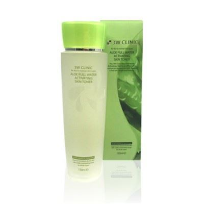 Picture of 3W CLINIC Aloe Full Water Activating Skin Toner - 150ml