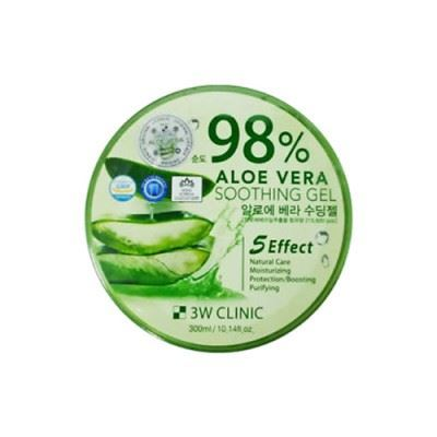 Picture of 3W CLINIC Aloe Vera Soothing Gel 98% - 300ml
