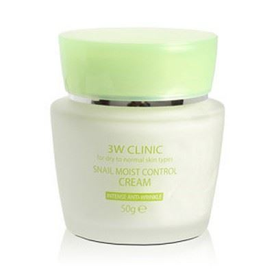 Picture of 3W CLINIC Snail Moist Control Cream - 50g