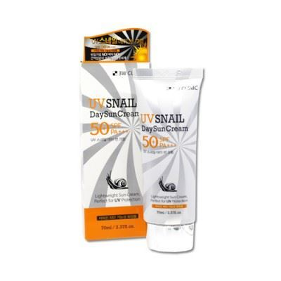 Picture of 3W CLINIC UV Snail Day Sun Cream - 70ml SPF50+ PA+++