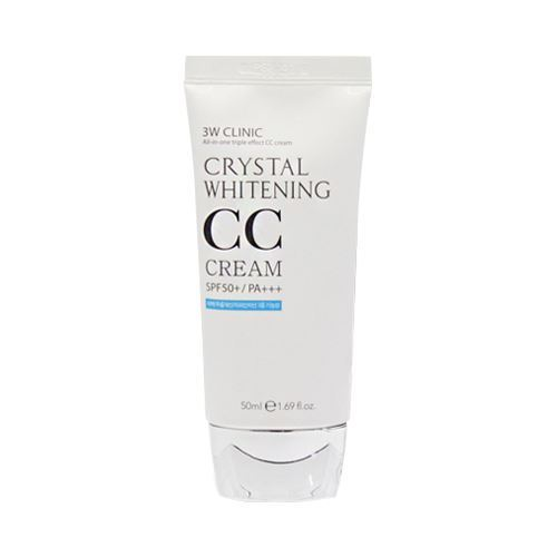 Picture of 3W CLINIC Crystal Whitening CC Cream - 50ml SPF50+ PA+++