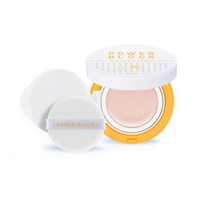 Picture of A'PIEU Power Block Tone Up Sun Cushion - 14g SPF50+ PA++++