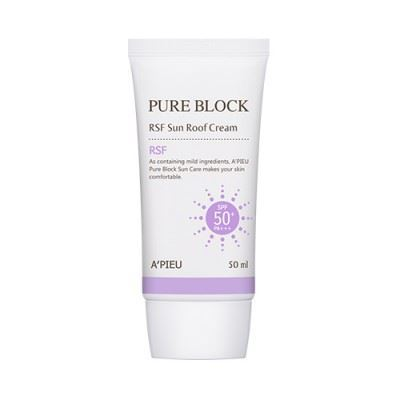 Picture of A'PIEU Pure Block RSF Sun Roof Cream - 50ml SPF50+ PA+++