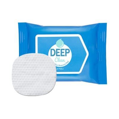 Picture of A'PIEU Deep Clean Lip & Eye Remover Pad - 1pack 30pcs